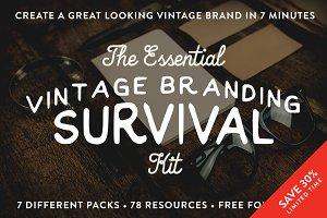 The Vintage Branding Kit