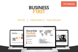 Business First - Powerpoint Template