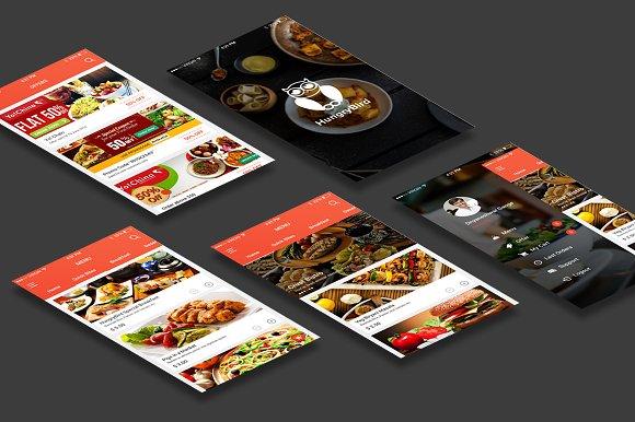 40% Off Food App UI Kit