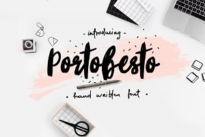 Portobesto | Brush Script Trio