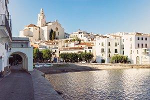 Cadaques, Mediterranean sea coast