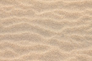 Closeup of sand pattern
