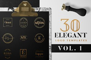 Elegant Logo Pack VOL 1