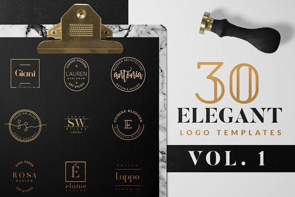Elegant Logo Pack VOL 1