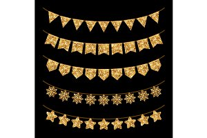 Gold Garlands