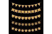 Gold Garlands