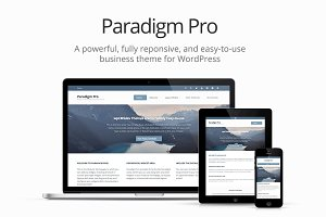 Paradigm Pro: Modern Business Theme