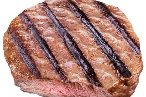 Beef steak isolated