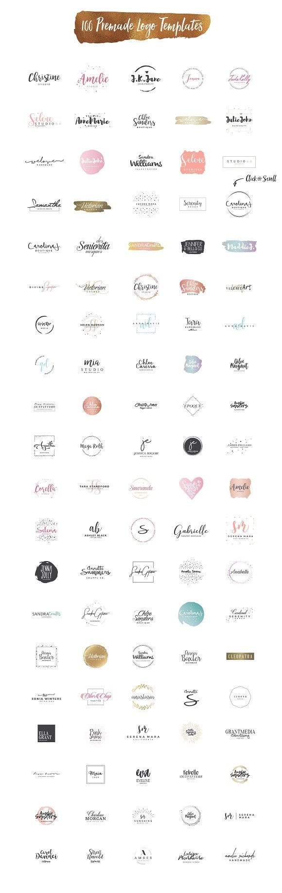 Hers Logo Branding Kit Templates Creative Market Circuitdiagram Afrilec Generator Fixya