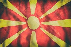 Old Macedonia flag