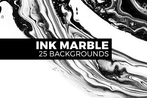 Ink marble backgrounds