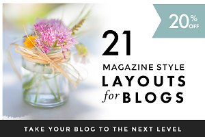 Magazine Style Layout for Blogs