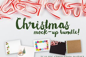 Christmas Stock Photo Mockup Bundle
