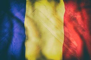 Old Romania flag
