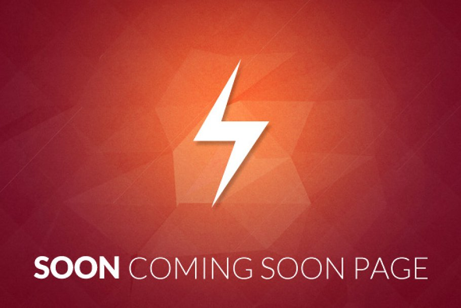 Soon Coming Soon Template Bootstrap Themes Creative Market