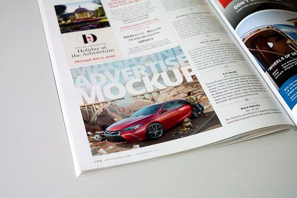 Download Magazine Advert Mockups
