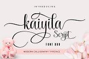Kaiyila Script + Sans