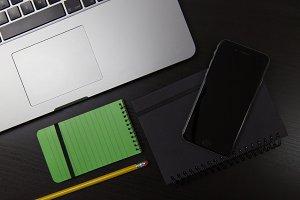 Black Office Desktop