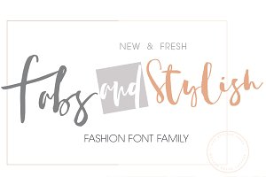 FabsandStylish New Font Family