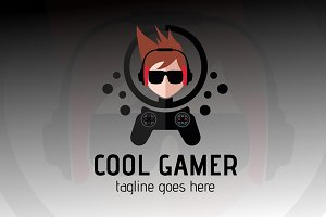 Cool Gamer Logo