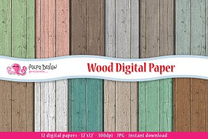 Wood Digital Paper