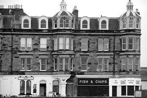 Fish'n'Chips, Portobello, Edinburgh