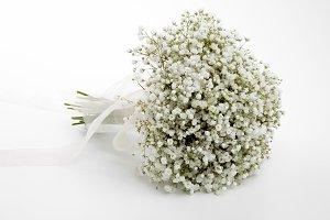 Gypsophila bridal bouquet