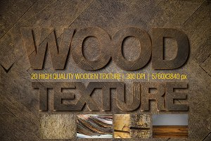 20 High quality wooden texture pack