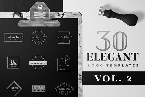 Elegant Logo Pack VOL 2