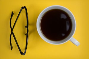 Coffee + Reading Glasses