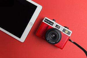 iPad + Camera