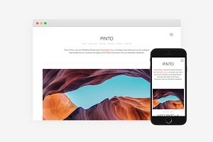 Pinto WordPress Theme
