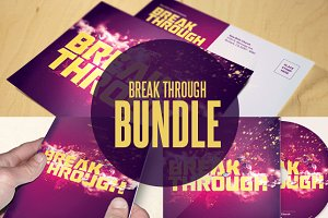 Break Through Church Template Bundle