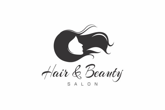 Hair Beauty Salon Logo Templates Creative Market