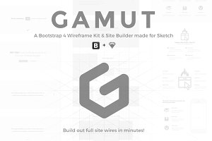 GAMUT - Wireframe Builder for Sketch