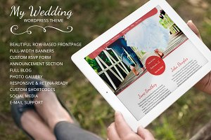 My Wedding - WordPress Wedding Theme