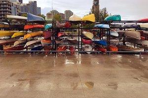 Kayaks in Toronto