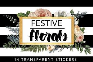 Festive Florals // Tags & Labels