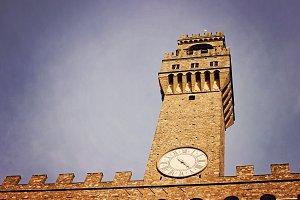 Palazzo Vecchio Blue Sky