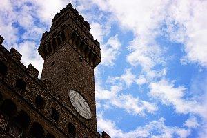 Palazzo Vecchio in the Clouds