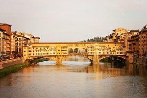 Ponte Vecchio at the Golden Hour