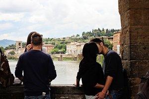 Love on the Ponte Vecchio