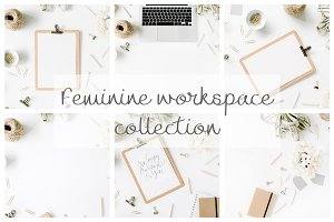 Feminine workspace collection