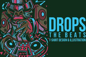 Drops the Beats Illustration