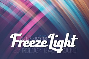 Vector Freezelight Background Set
