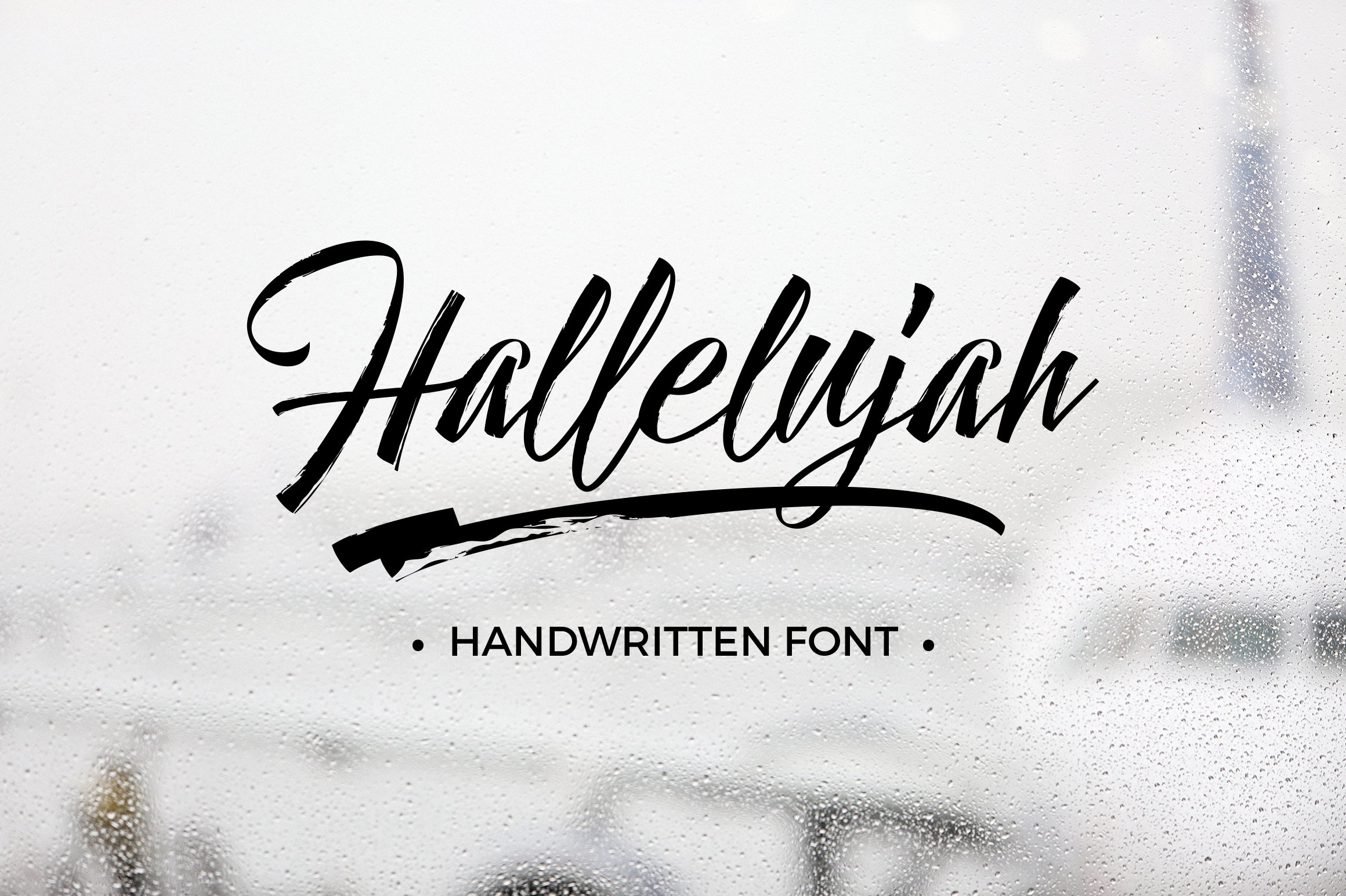 Hallelujah Script Fonts Creative Market