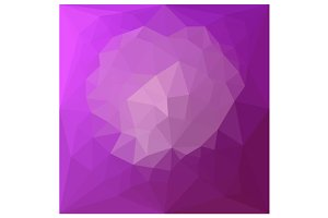 Eminence Violet Abstract