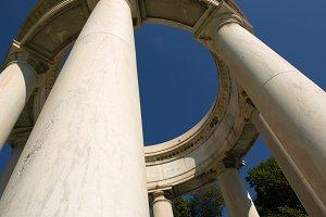Memorial and Blue Sky
