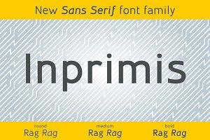 Inprimis - New Sans Serif typefamily