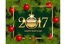 6 New Year vector banners